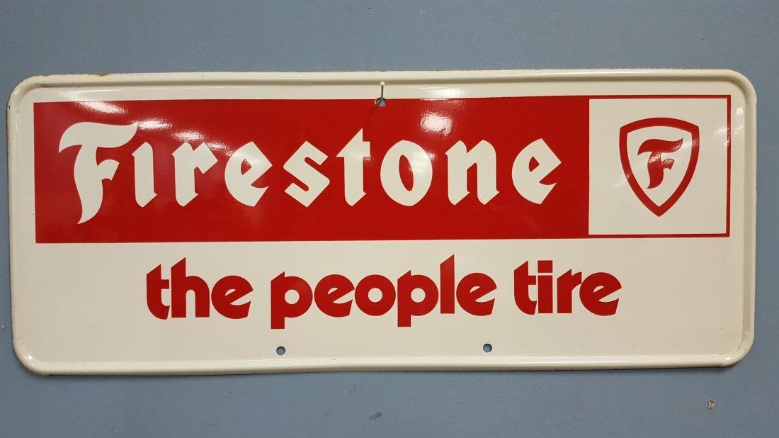NOS Firestone Advertising Sign