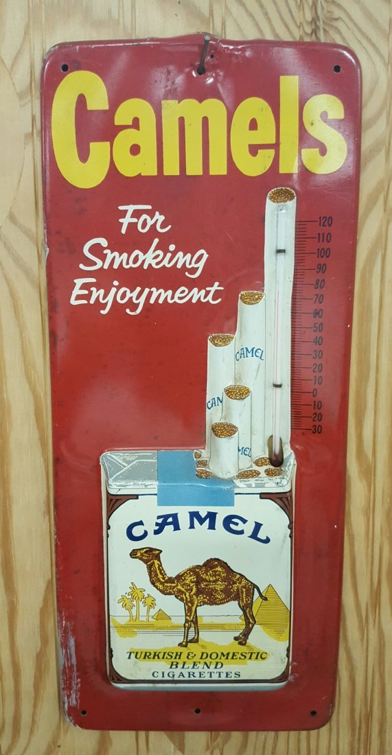 Camels Thermometer