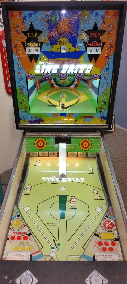 Williams Pitch & Bat Baseball Pinball Machine