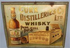 Cork Distilleries Co. LTD Whisky Sign
