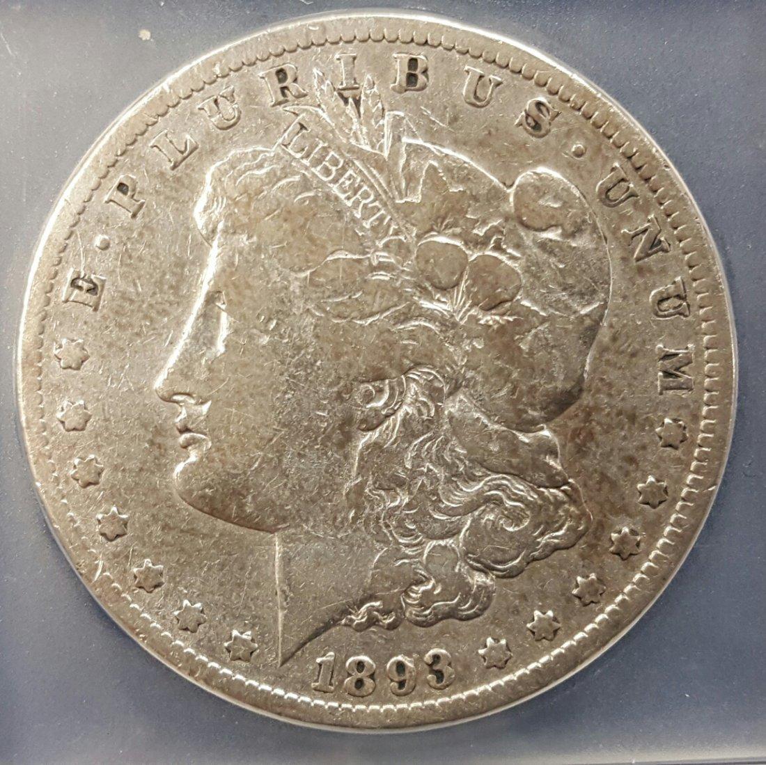 1893 Carson City Silver Dollar (last year)