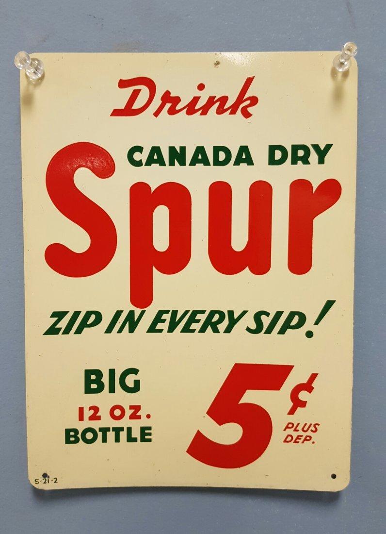 Spur Canada Dry Door Palm Push