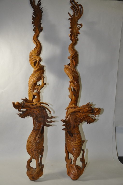 Chinese Wooden Dragons
