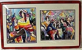 Framed 2-in-1 Michael Kerman Lithographs (182E-EK)