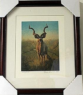 Framed  Peter Darro Limited Edition Lithograph (5E-EK)