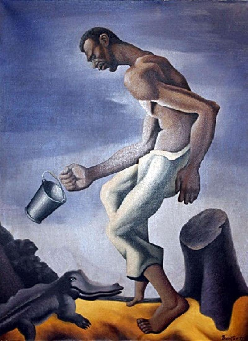 Mr. Reilnols - Thomas Hart Benton - Oil On Canvas - 2