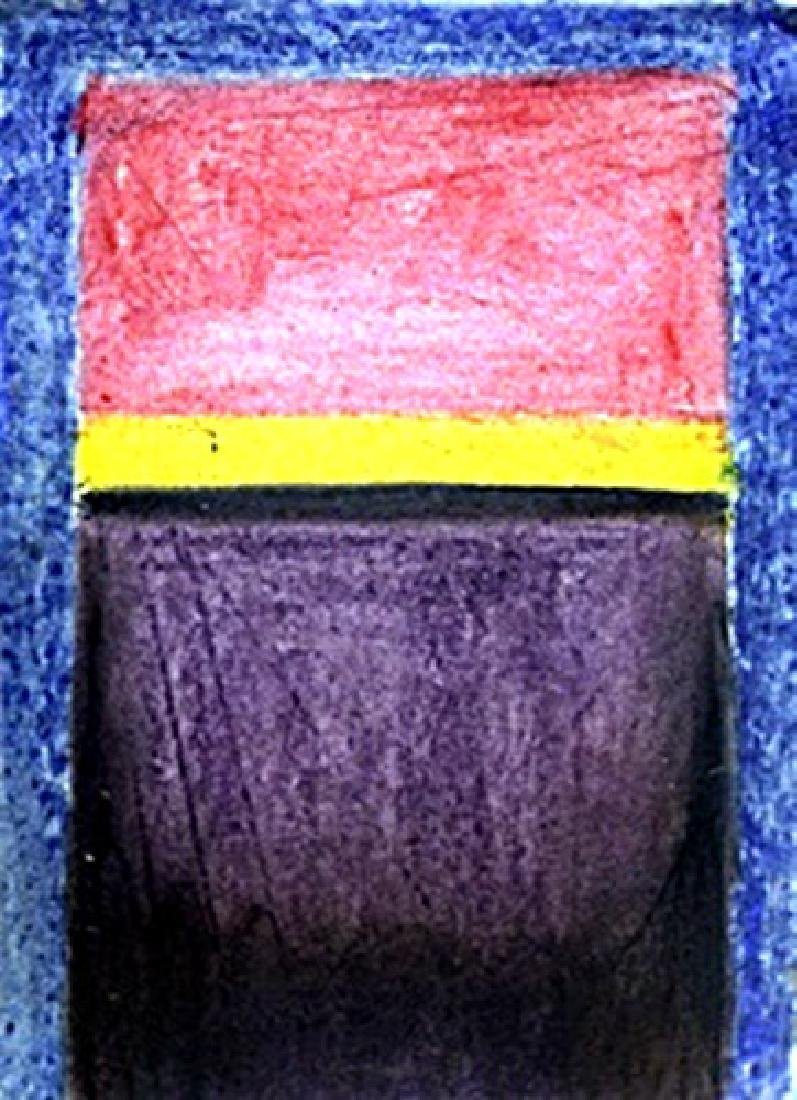Blue, Red, Yellow - Mark Rothko