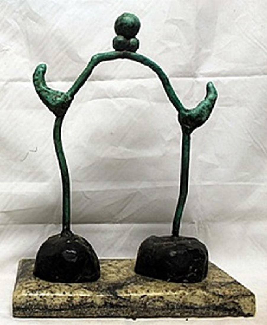 Patina Bronze Sculpture   Joan Miro