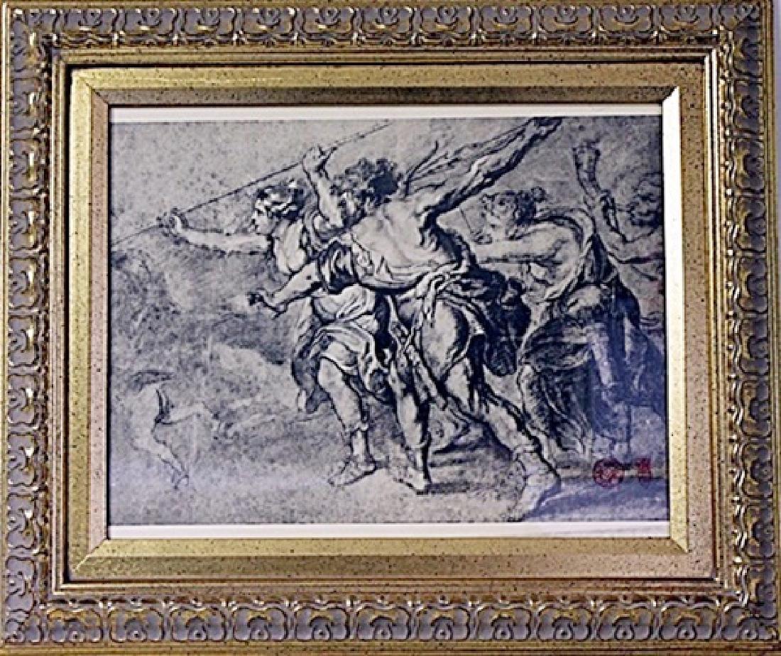 Framed FRATELLI ALINARI- FIRENZE VIA NAZIONALE