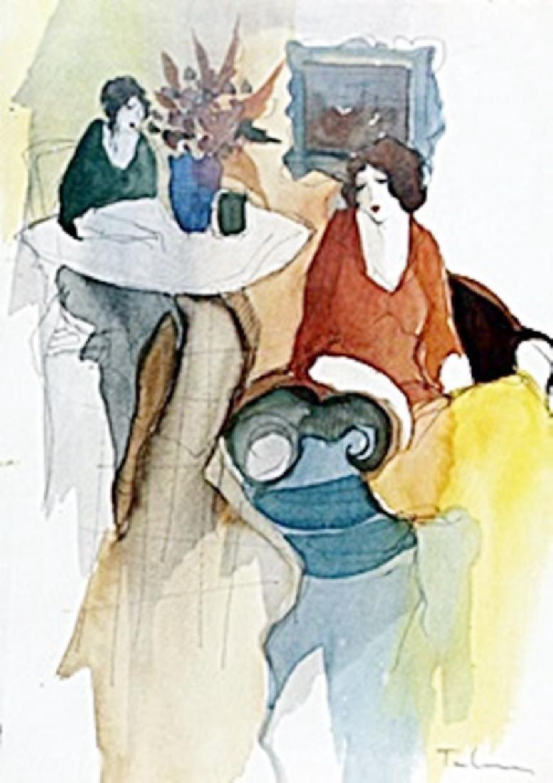 Lithograph after Itzchak Tarkay