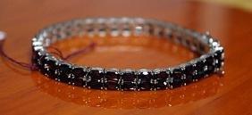 Beautiful Bracelet with Sapphire