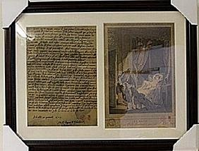 Framed 2-in-1 Engravings (93E-EK)