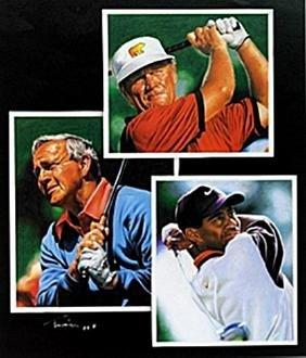"Print ""Golf Legends""  Tim Cortes"