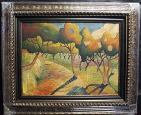 Mixed/Mixed Media on Canvas By Georges Braque