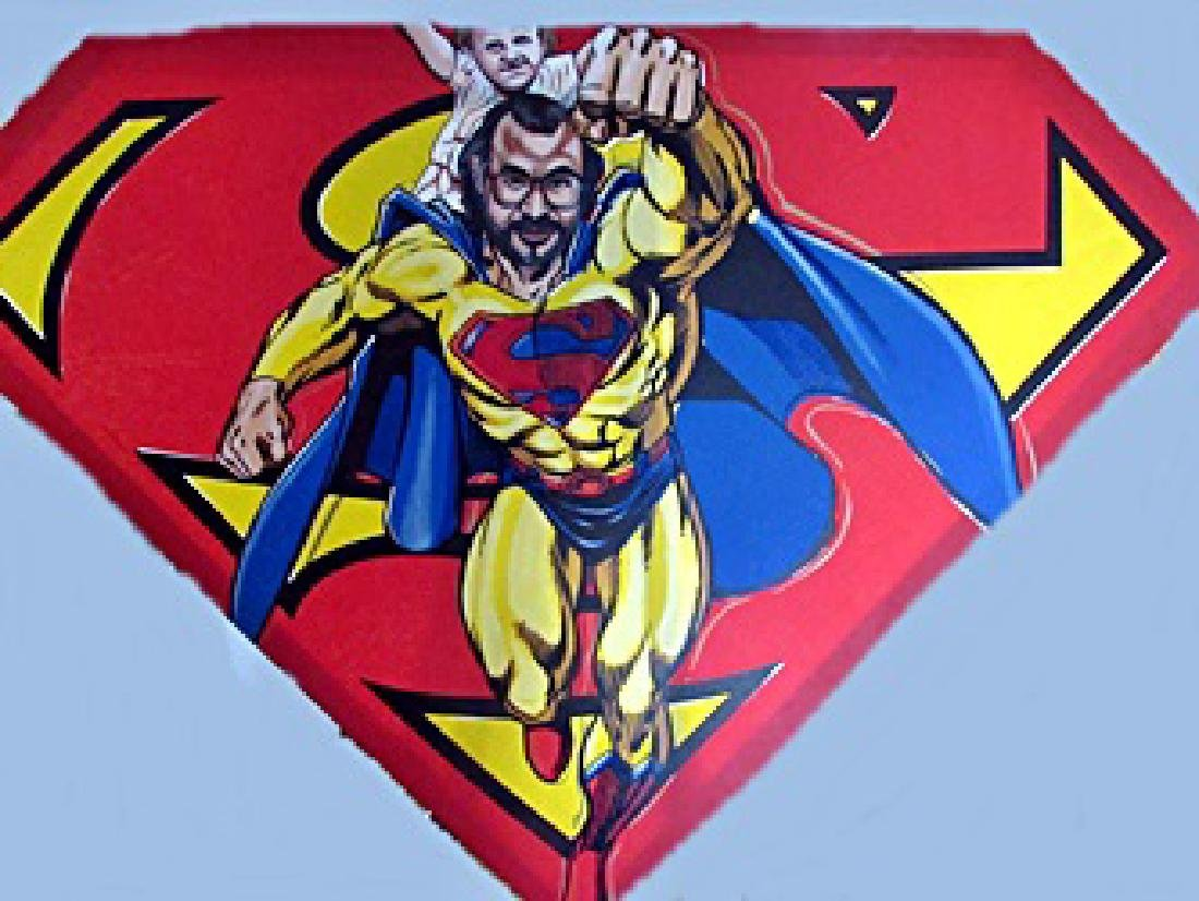 Signed Limited Edition Superman on Canvas