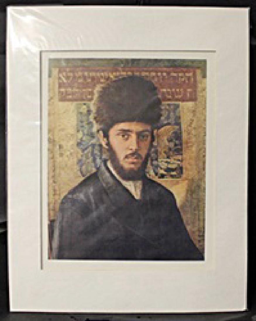 """YOUNG RABBI"" By ISIDOR KAUFMAN (N)"
