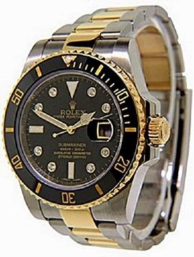 Twotone Diamonddial Submariner Rolex