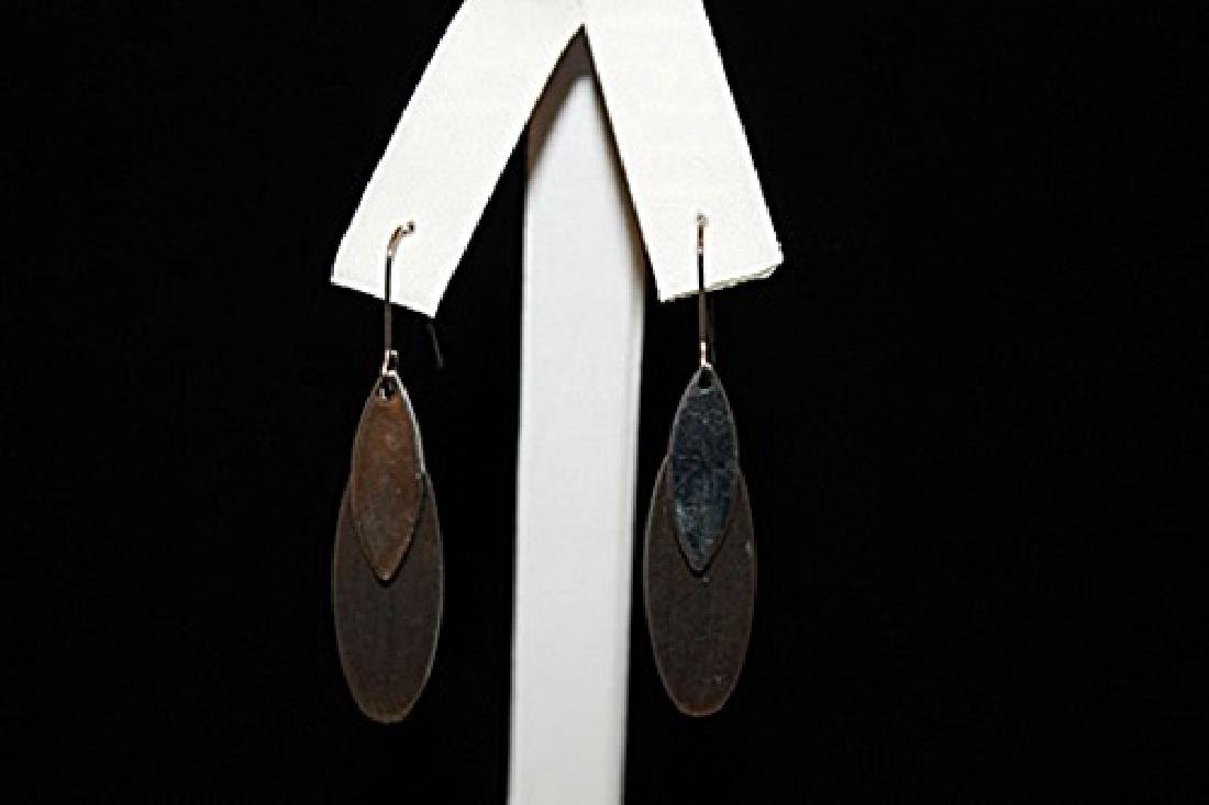 Gorgeous Chic Silver Earrings (54E)