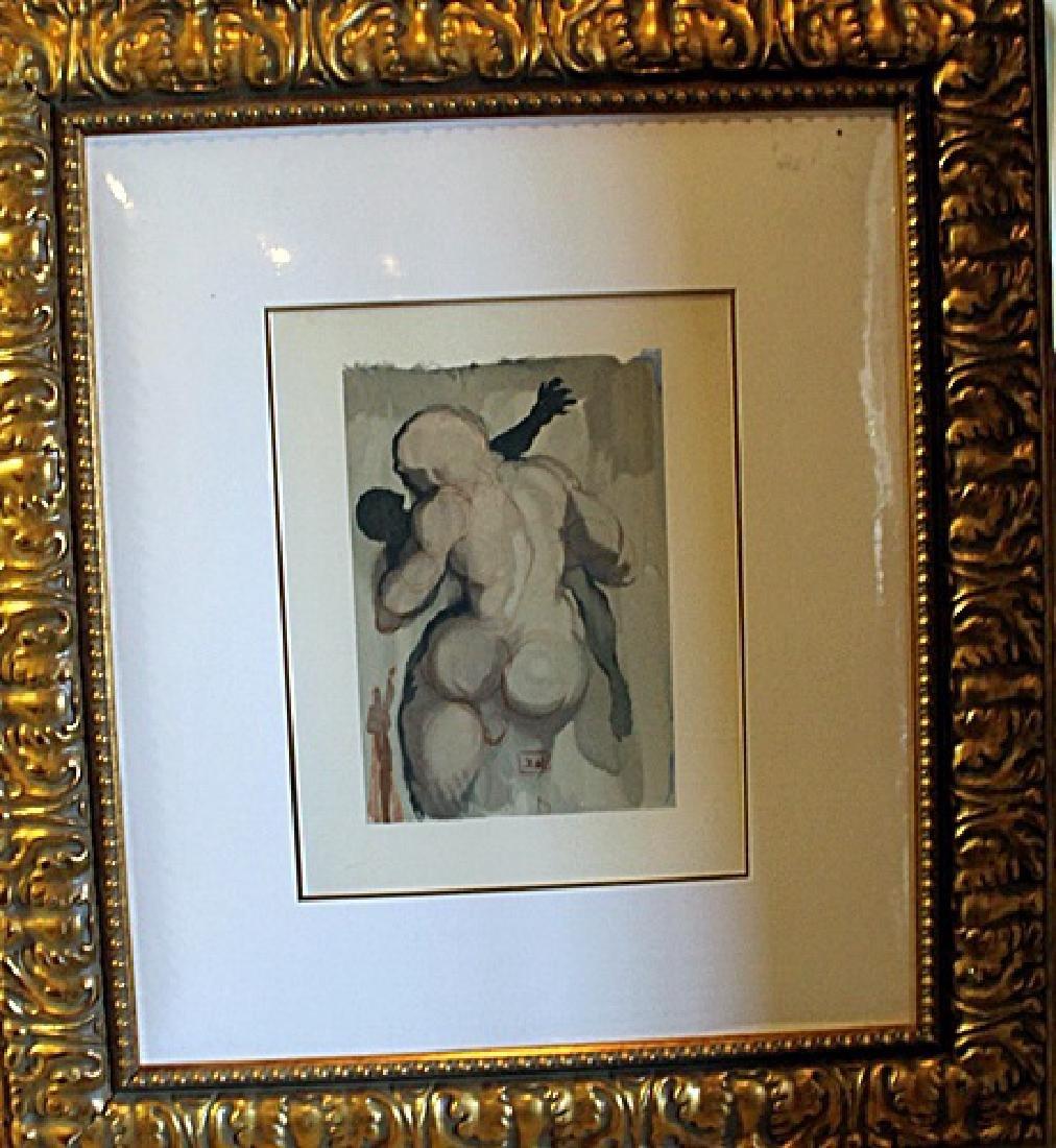 Framed Dali Divine Comedy