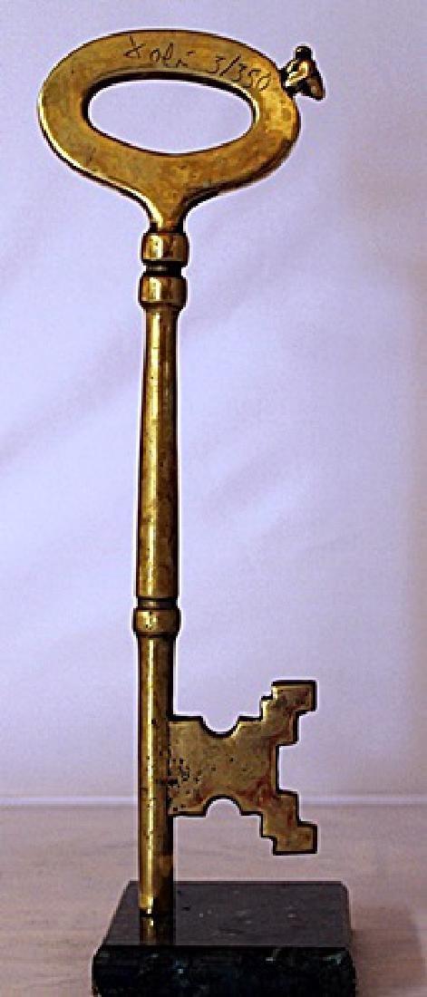 Skeleton Key - Gold over Bronze Sculpture after