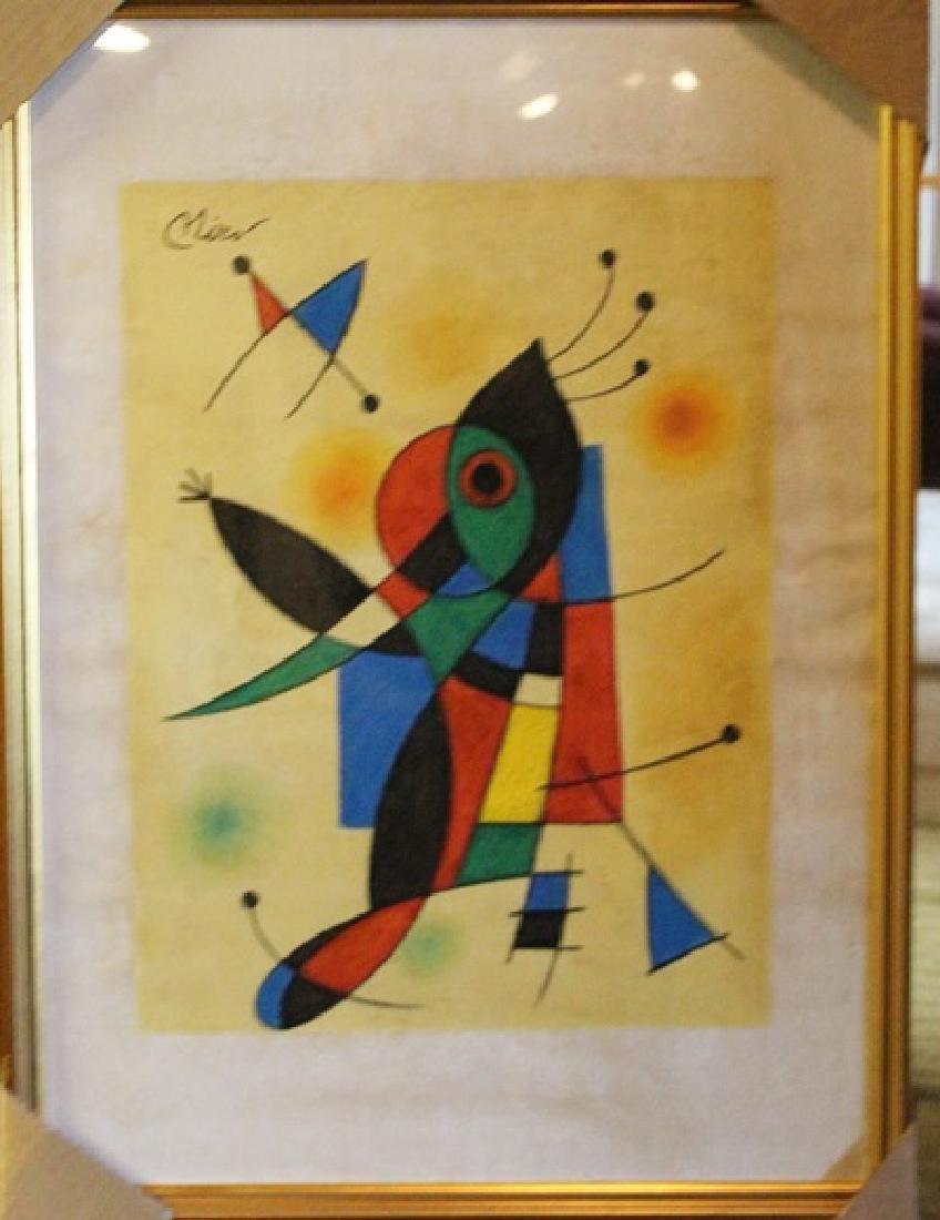 Framed Art - Joan Miro
