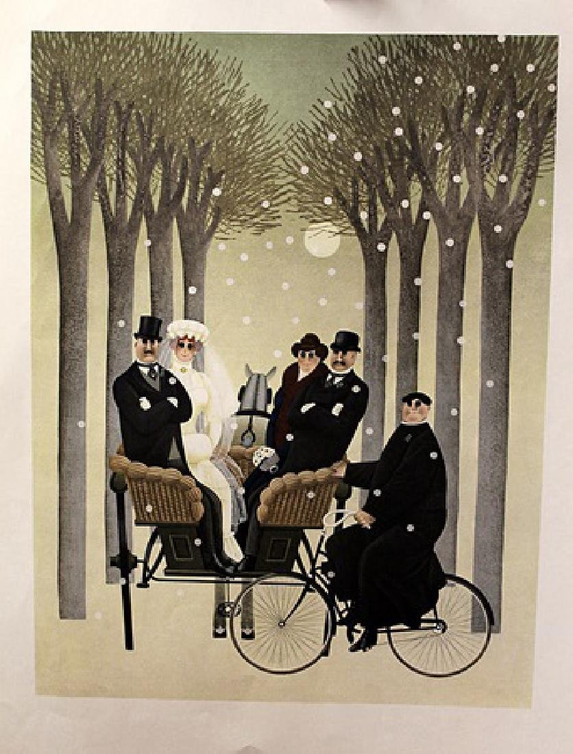 Winter Wedding - Jan Balet - Lithograph