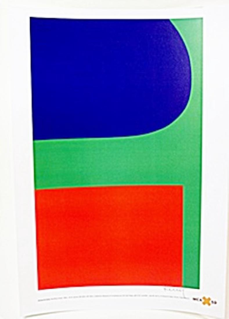 """Lithograph """"Red Blue Green""""  Ellsworth Kelly"""