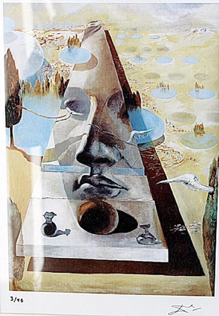 Apparition of the Face of Aphrodite - Salvador Dali -