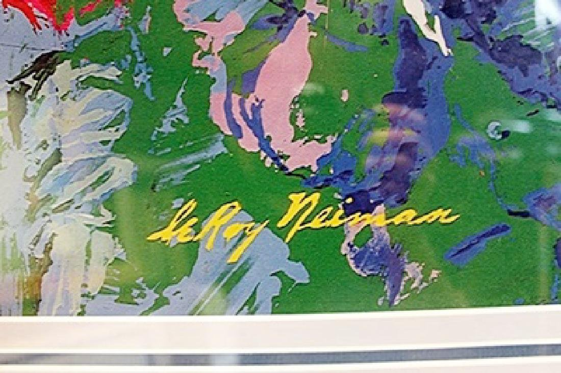 """Framed Lithograph """"Champions Of Golf"""" LeRoy-Neiman - 2"""