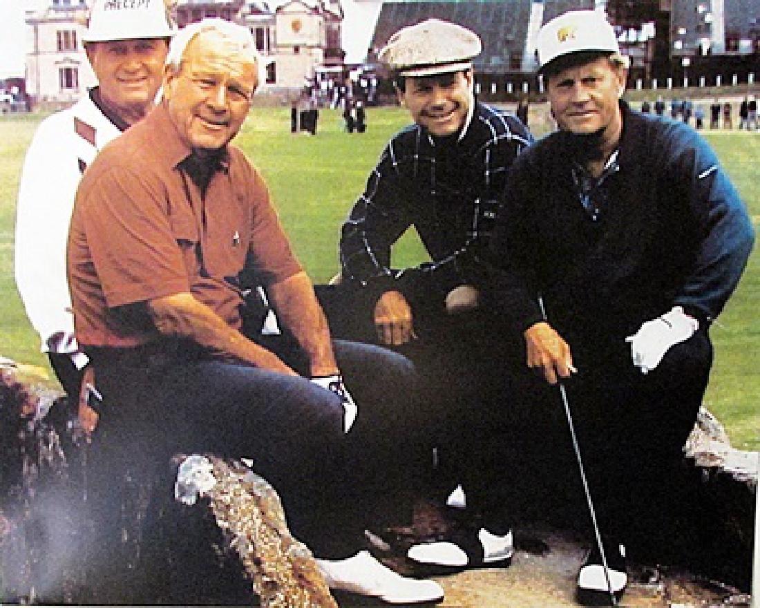 Golf Legends - Lithograph