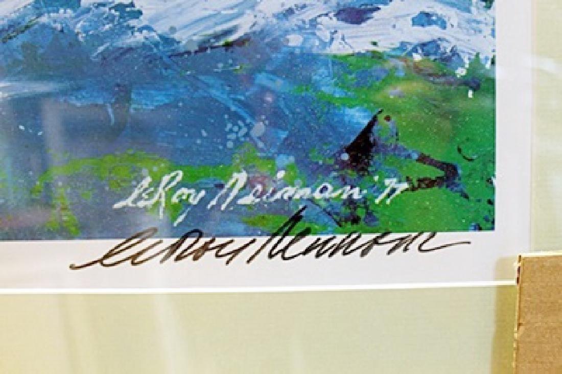 "Framed Lithograph ""Sailing"" LeRoy-Neiman - 2"