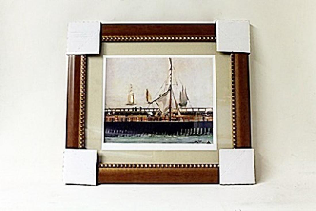 Framed Edouard Manet Lithograph (240E-EK)