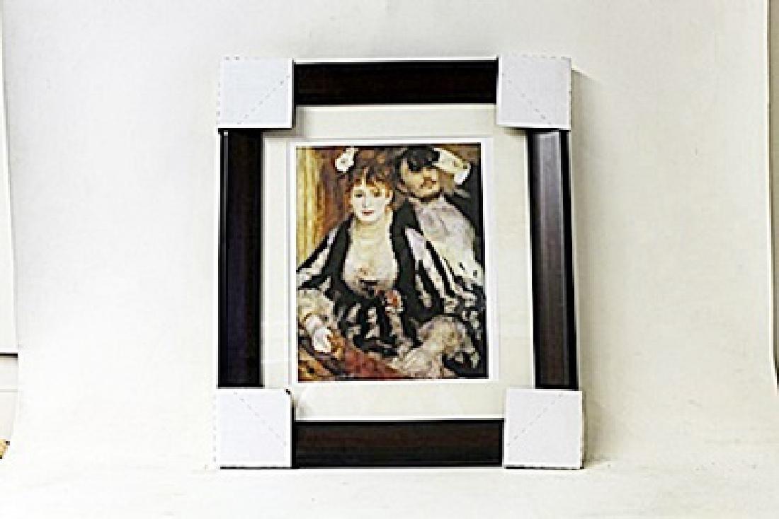 Framed Pierre-Auguste Renoir Lithograph (198E-EK)