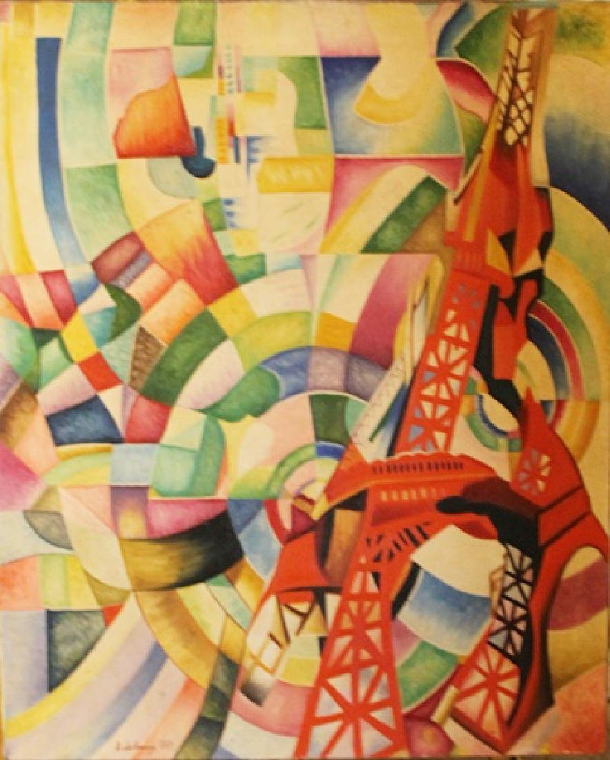 Oil on Canvas - Robert Delaunay