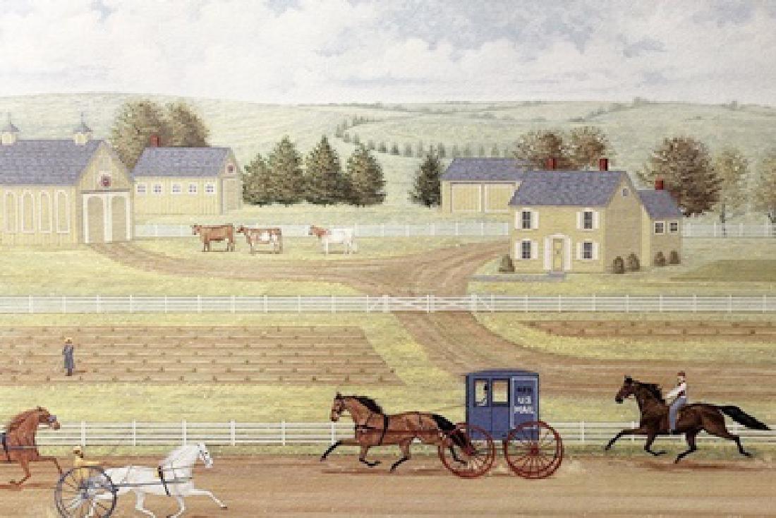 Country Racing - Judith Blinn - Lithograph