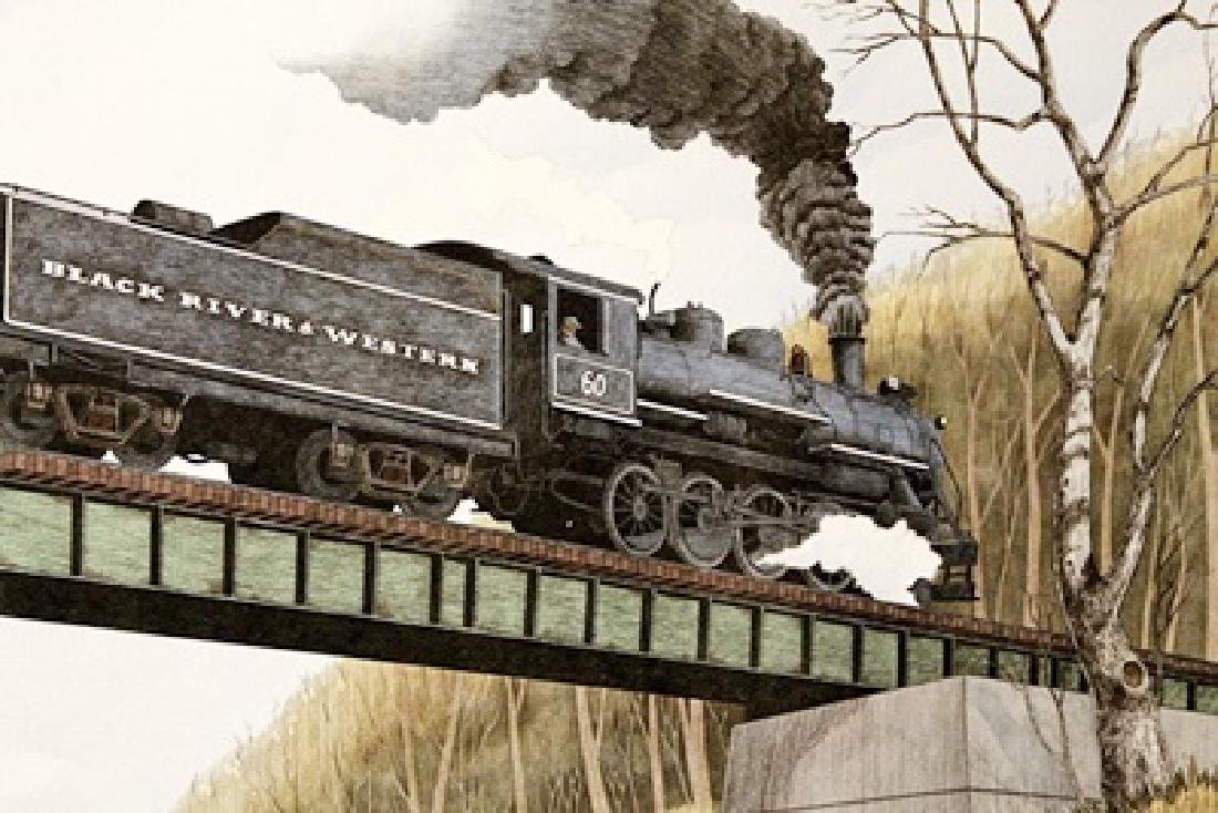 Westbound - William Coombs - Lithograph