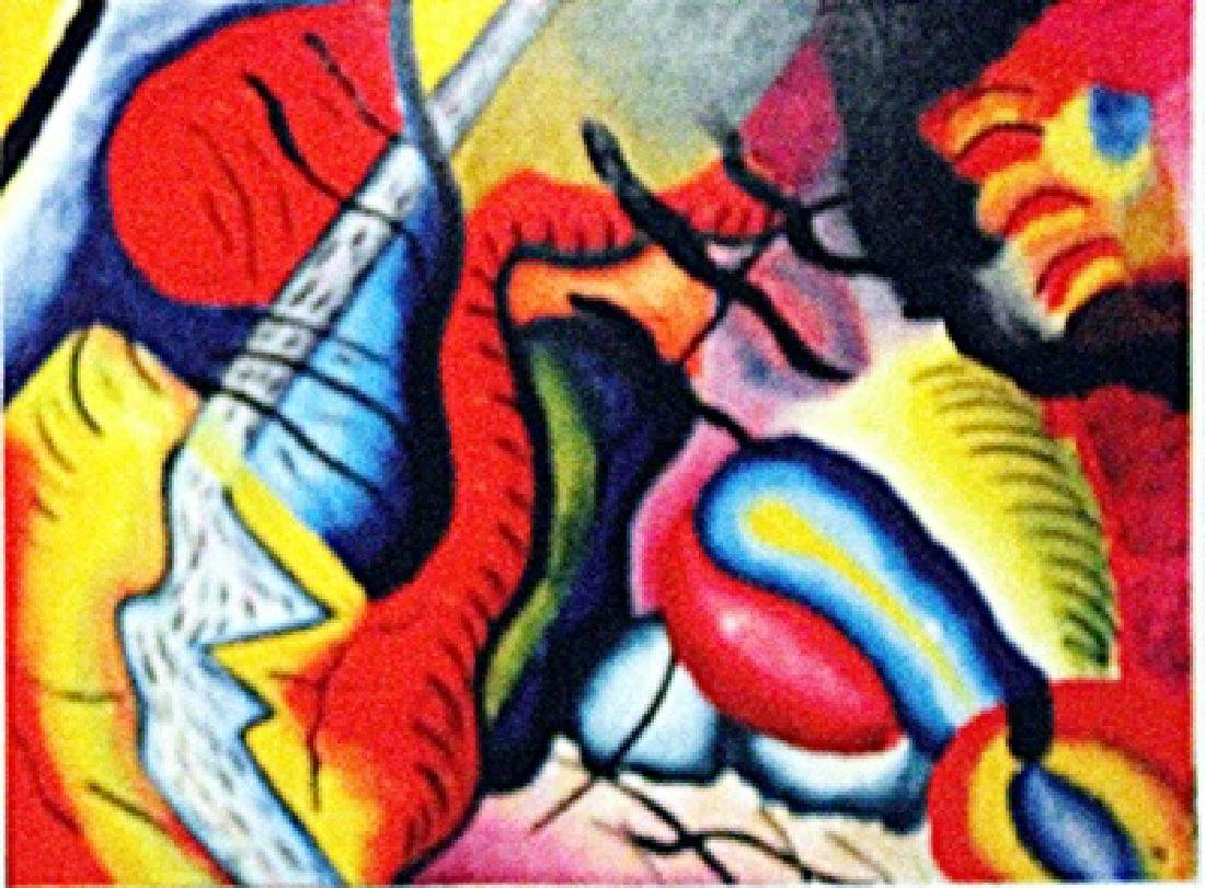Wassily Kandinsky - Composition II