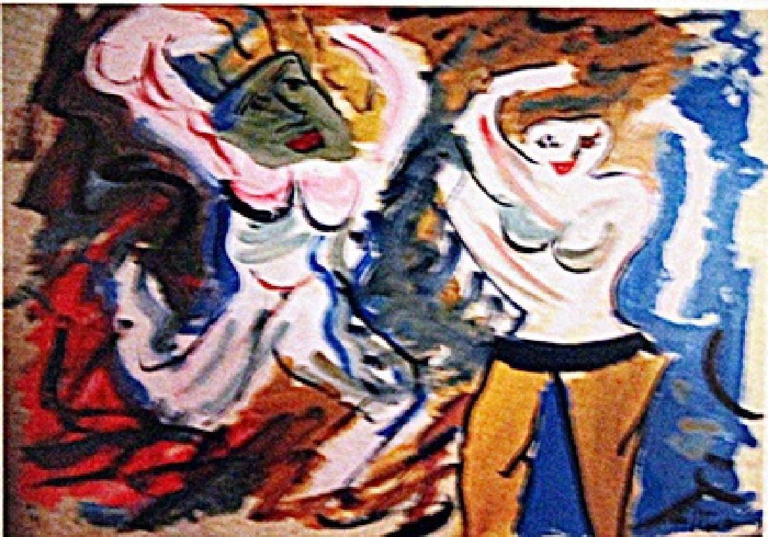 Willem De Kooning - Two Woman