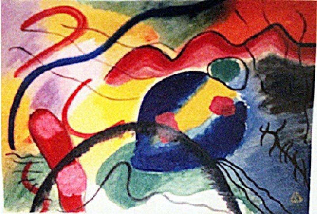 Wassily Kandinsky - Improvisation N 16