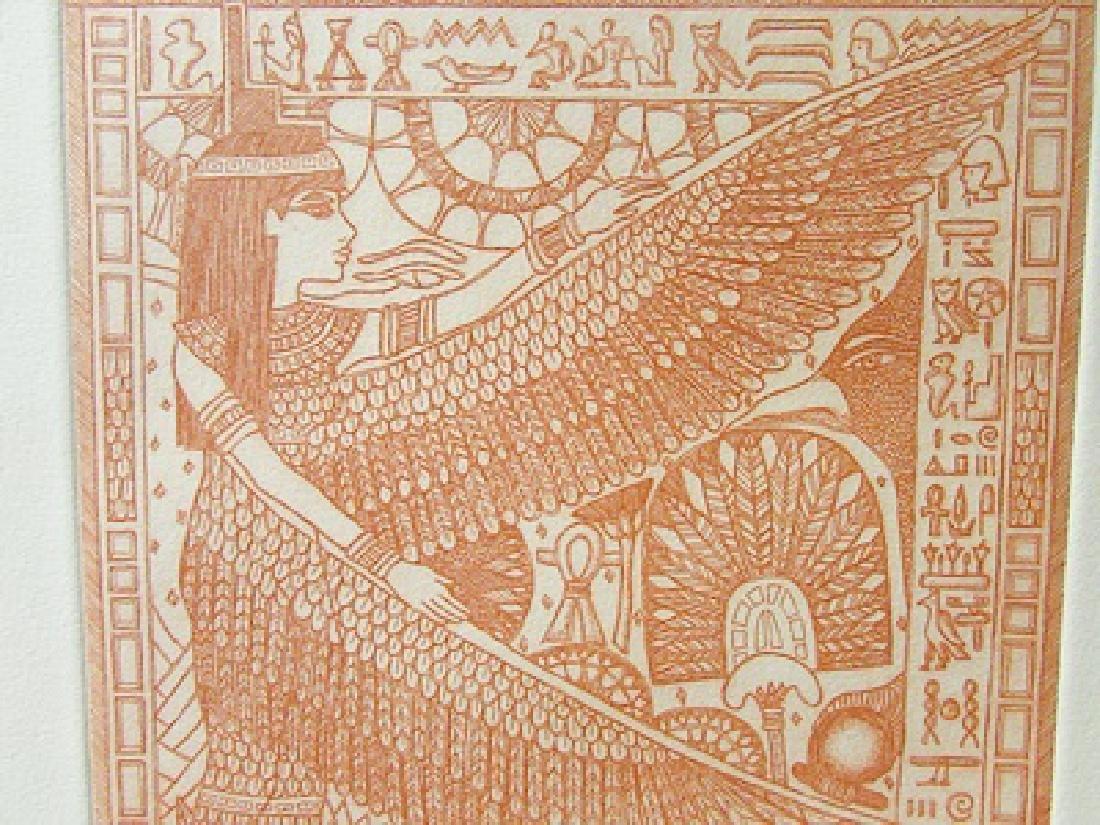 Egyptian Life - Bill Schmidt - Etching