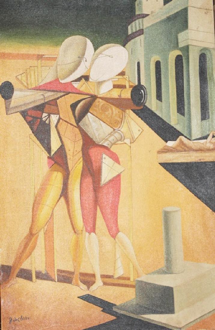 Oil on Canvas - Giorgio De Chirico