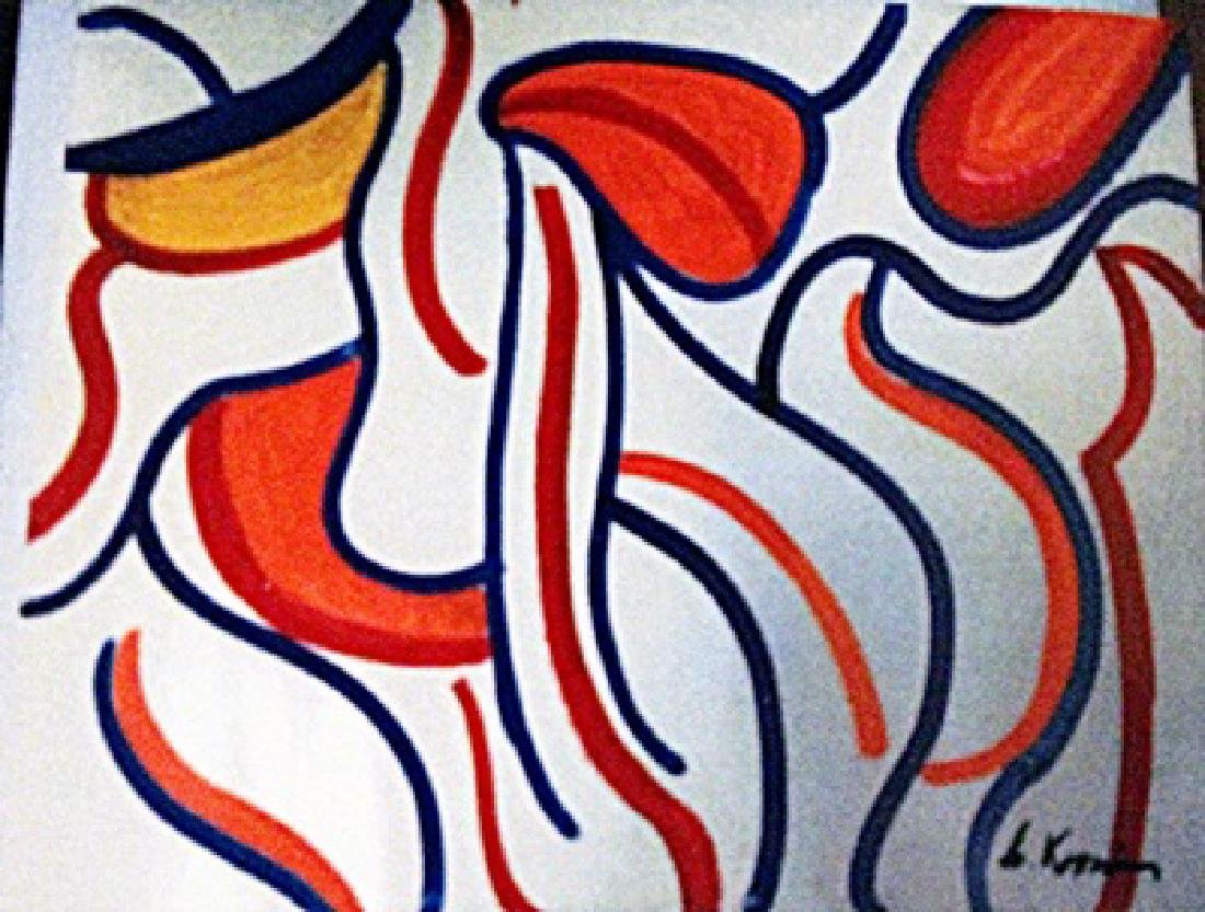 Willem De Kooning - Two Woman Blue