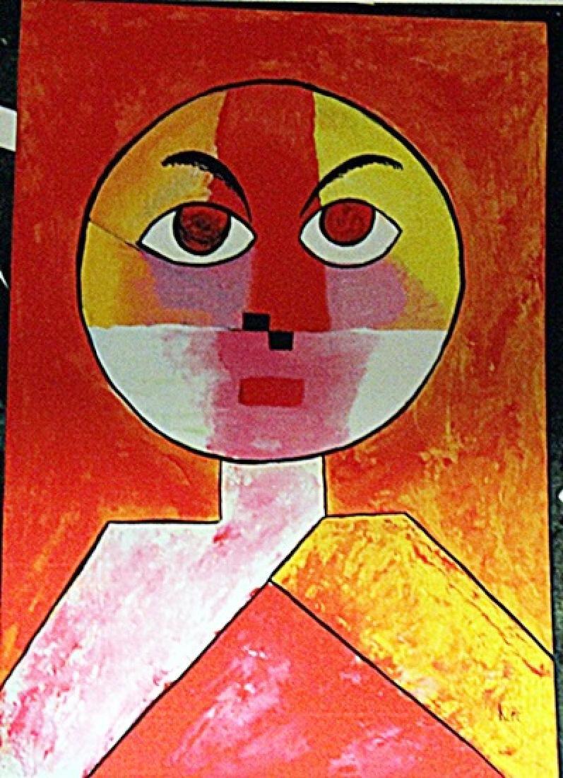 Paul Klee - Man Head