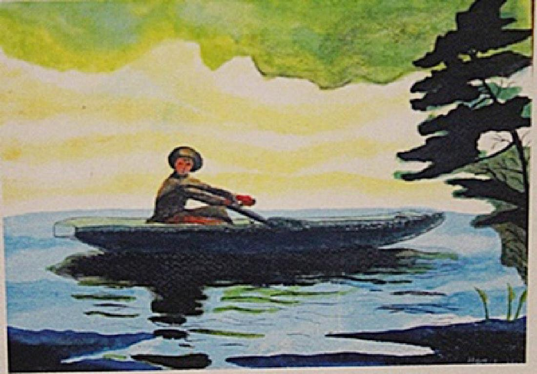 Winslow Homer - The Green Boat
