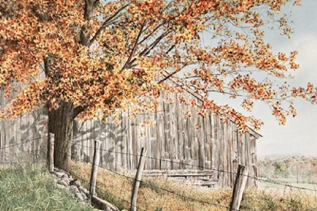 Round The Bend - Helen Rundell - Lithograph
