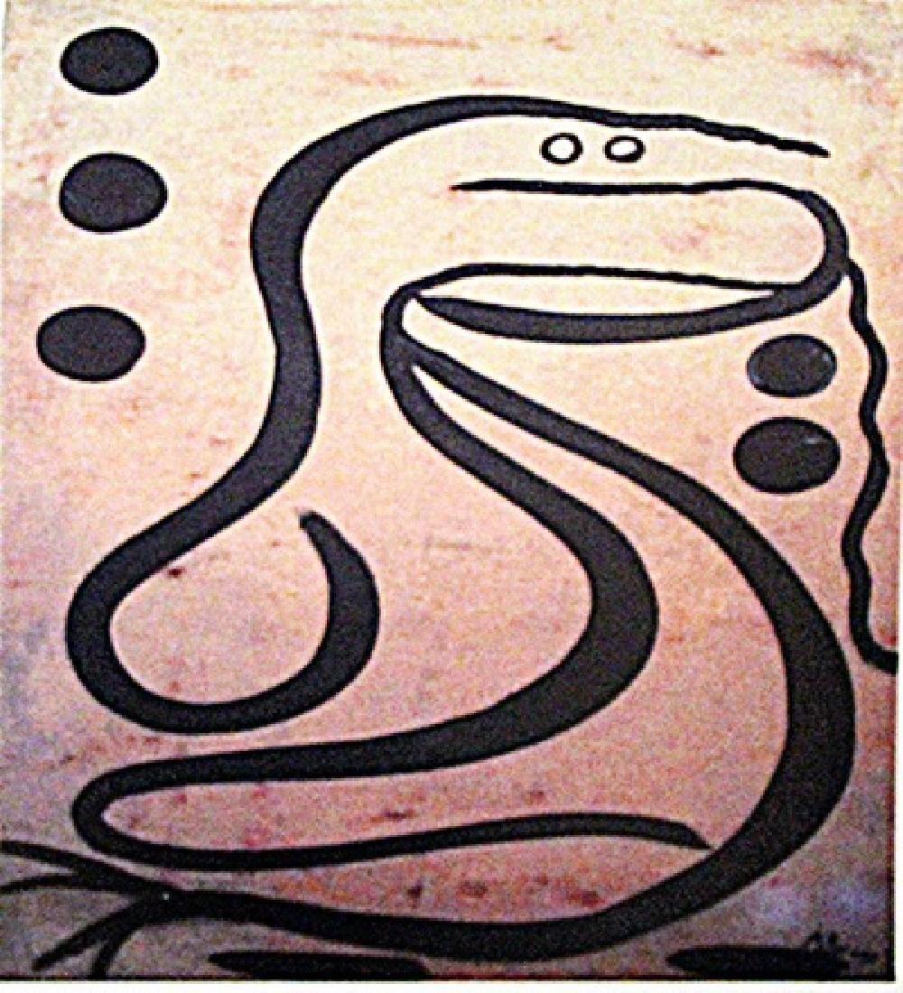 Paul Klee - The Snake