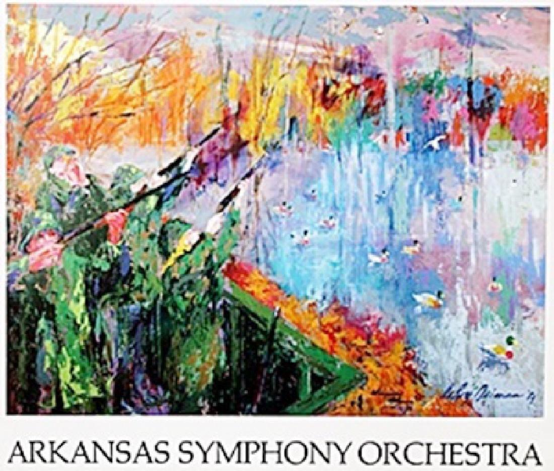 """Print """"Arkansas Symphony Orchestra""""  Leroy Neiman"""
