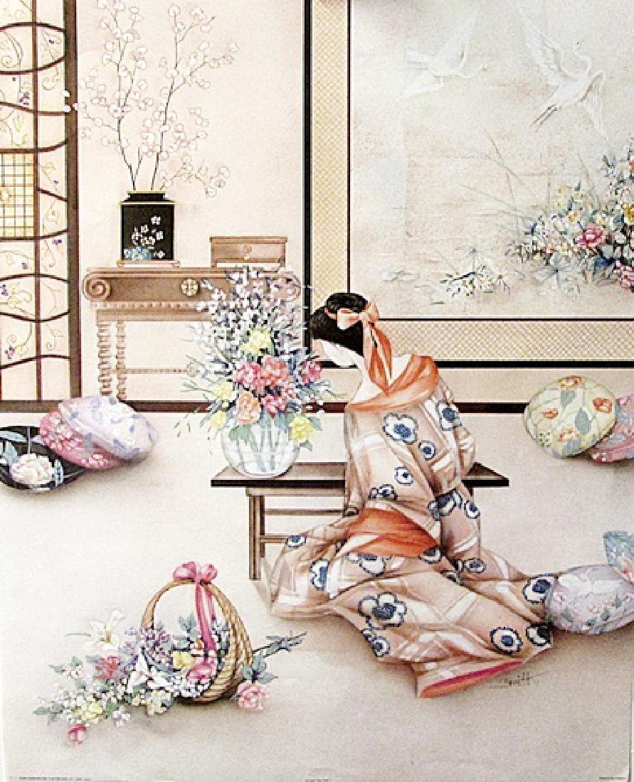 Tea Time I - Mary G. Smith - Lithograph