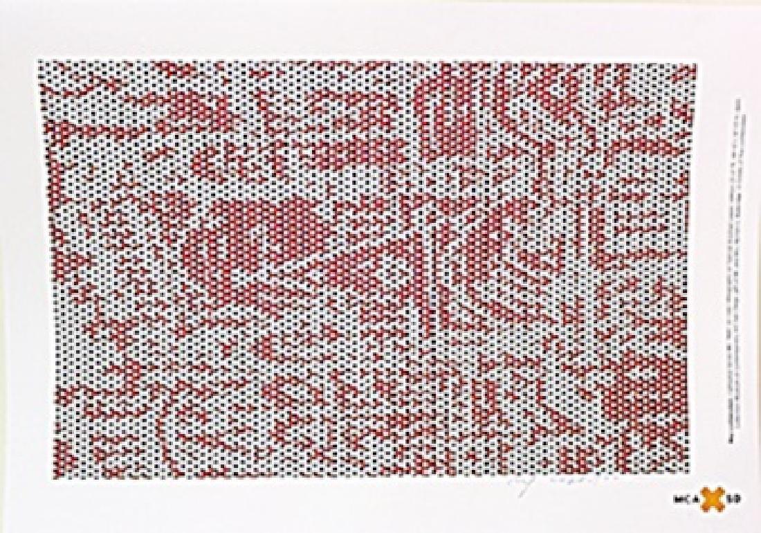 "Lithograph ""Cathedral Series IV""  Roy Lichtenstein"