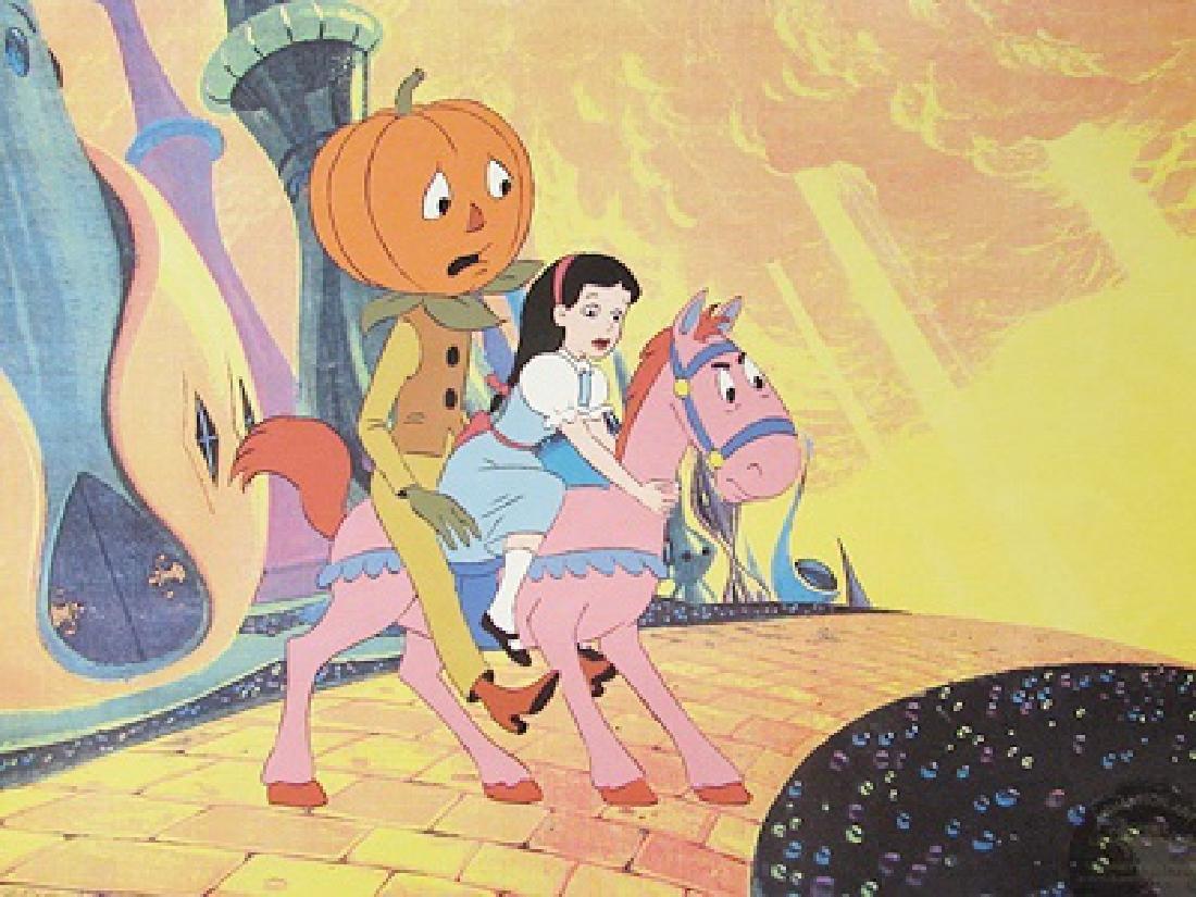 Journey Back To Oz - Animation art